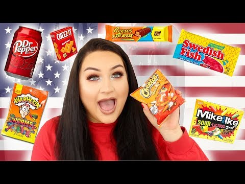 NEW ZEALANDER TRIES AMERICAN CANDY