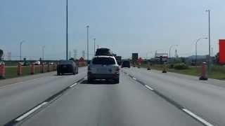 Jean Lesage Expressway (Autoroute 20 Exits 90 to 98) eastbound