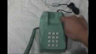 ダイヤル回線にプッシュホン(フッキング発信)