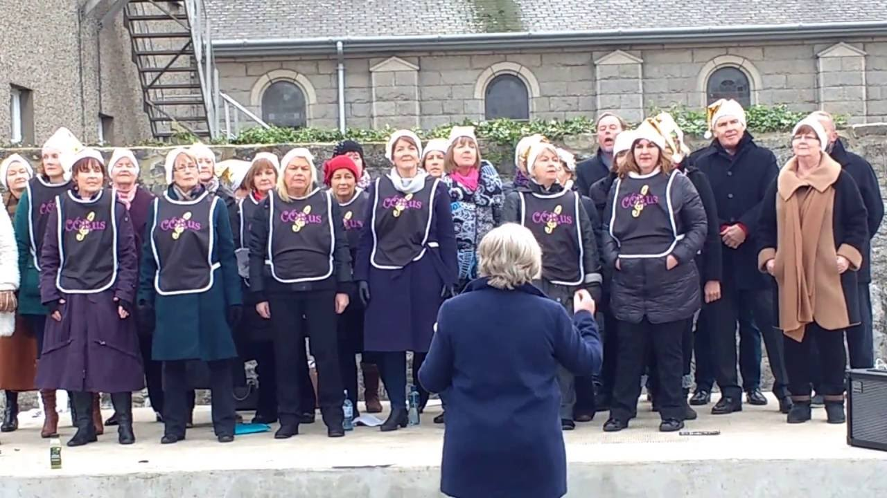 Download Skerries Corus Choir singing festive carols Sunday 4th December 2016