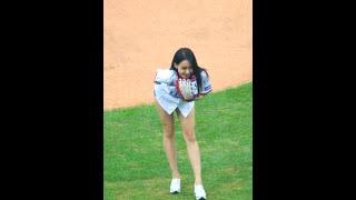 160910 밤비노(BAMBINO) 은솔(EunSol) 시구/First Pitch 세로 직캠/fancam @ 대구삼성라이온즈파크 by hoyasama