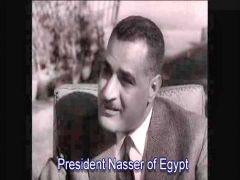 1956 Middle East peace Interviews: Ben Gurion - King Hussein