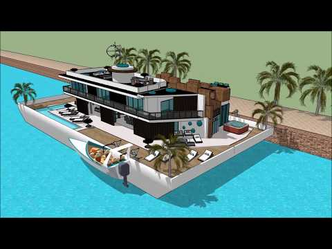 Yacht home HOUSEBOATS AUCKLAND ON WATER BOAT SHOW 2018 UNITED STATES US HOUSEBOAT LIVING  Exhibition