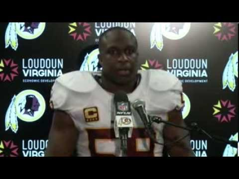 London Fletcher Post Game Press Conference at NY Giants
