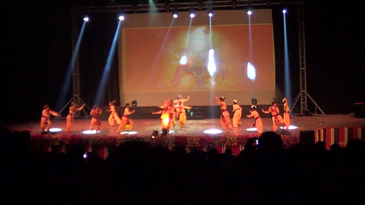 NDA ramayan dance drama at siri fort NTPC rasing delhi