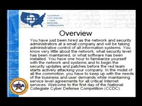 Defcon 14 14 Greg White National Collegiate Cyber Defense