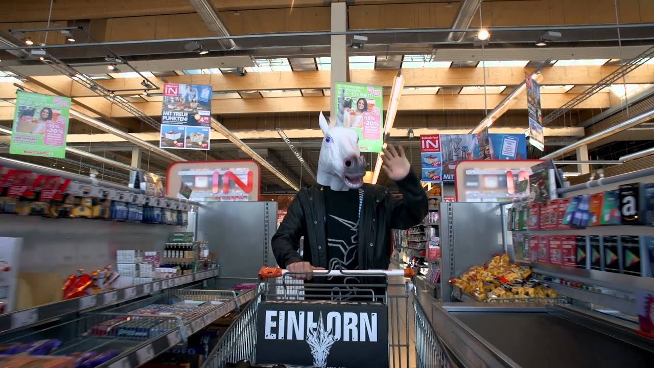 Einhorn Bier shoppen - YouTube