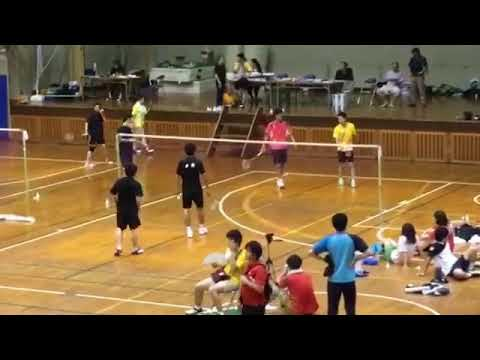 Japanese civil badminton competition in Chiba prefecture