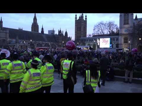 Stop Trump - London demo!