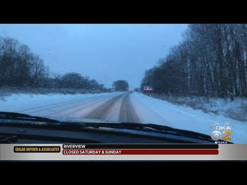 Pittsburgh Weather: Road Conditions Slippery North Of The City