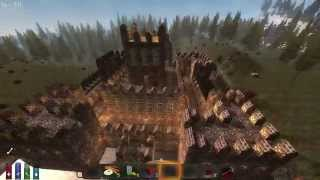 7-days To Die - Amazing Buildings, Build Your Own Castle.