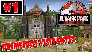 Jurassic Park Operation Genesis (Gameplay/PT-BR) - Primeiros Visitantes (#1)