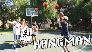 HANG-MAN 3 POINT SHOOTING CHALLENGE ft. 2HYPE