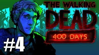 The Walking Dead 400 Days DLC Gameplay / Playthrough w/ SSoHPKC Part 4 - Consequences of Decisions