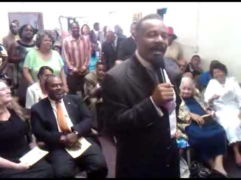 Superintendent Sam Townsend Sr. @ Jubilee COGIC's Family & Friends Day 2009