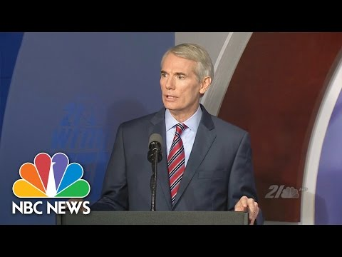 Senator Rob Portman Says Donald Trump Video Was 'The Final Straw' | NBC News