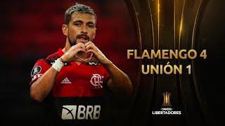 Flamengo vs. Unión La Calera [4-1]   RESUMEN   Fecha 2   CONMEBOL Libertadores 2021
