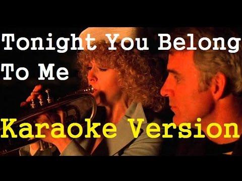 Tonight You Belong To Me- Karaoke Version (Guitar)
