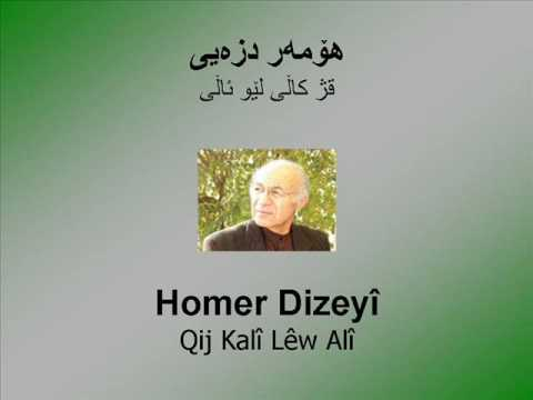 Homer Dizeyî - Qij Kalî Lêw Alî - هۆمهر دزهیی - قژکاڵی ...