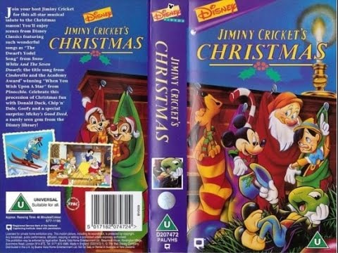 Opening and Closing of 'Jiminy Cricket's Christmas' [UK VHS] (1995 ...
