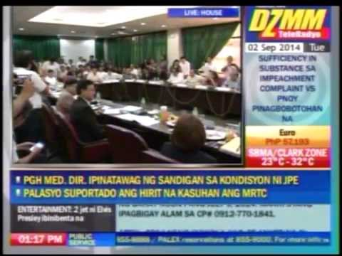 PNoy impeach raps insufficient in substance