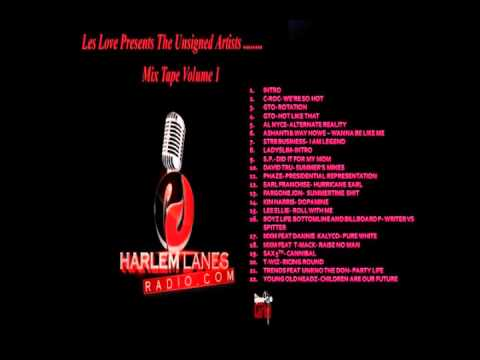 HARLEM LANES RADIO MIX CD 1