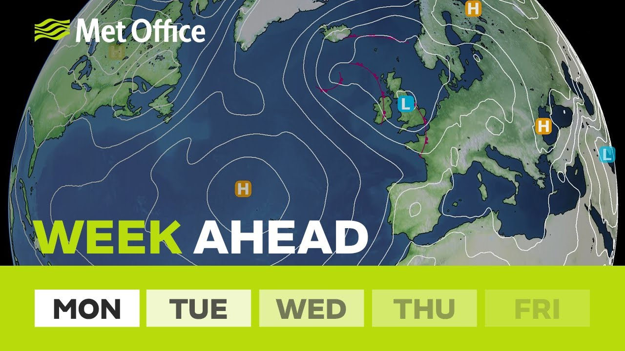 Weeh ahead - A risk of thunderstorms and turning fresher 26/07/21