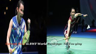 Current No.1 in BWF World Rankings - Tai Tzu-ying