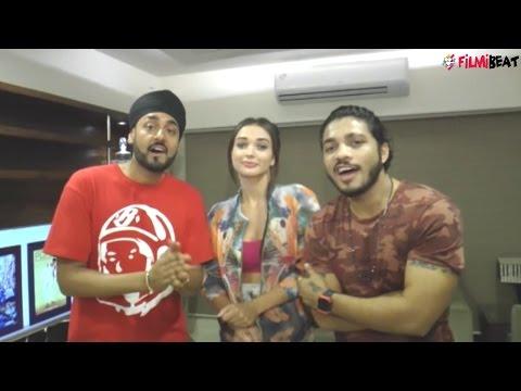 Raftaar, Manj Musik, Amy Jackson talks about LAK HILAADE song, watch video   Filmibeat