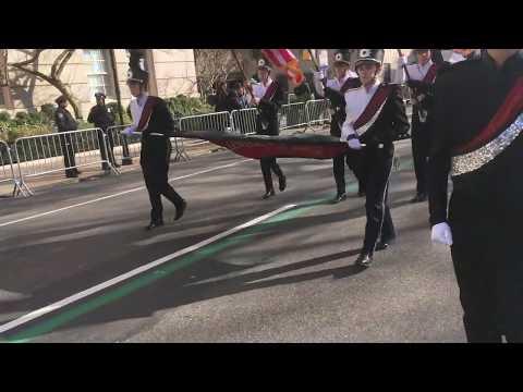 Linganore High School Marching Band 2019 NYC Saint Patrick's Day Parade