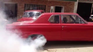 1966 dodge dart burn out Ramiriquí 2013