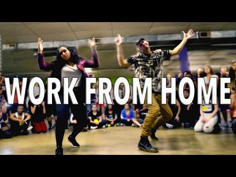 Видео: WORK FROM HOME - Fifth Harmony ft Ty Dolla ign  MattSteffanina Choreography