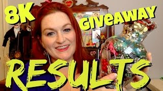 Results Video!  8K Subscriber Celebration & Jewelry Jar Giveaway