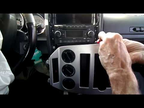 Dodge Caliber Radio Removal