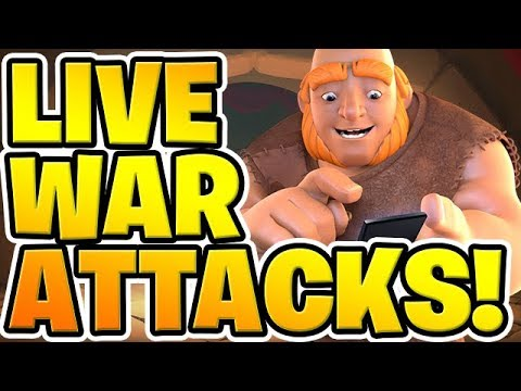 CAN I 3 STAR LIVE?! TH10 & TH11 LaLoon War Attacks! -
