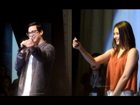 Cora and Tanner's song/dance performance at KCC Mall GenSan
