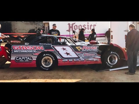David Payne at North Georgia Speedway IN CAR Camera