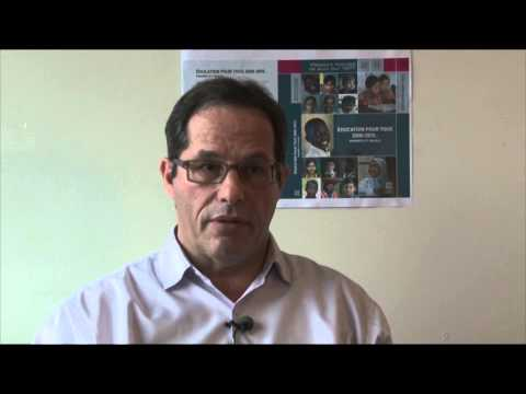 Interview of Aaron Benavot, Director  of the Education for All Global Monitoring Report 2015
