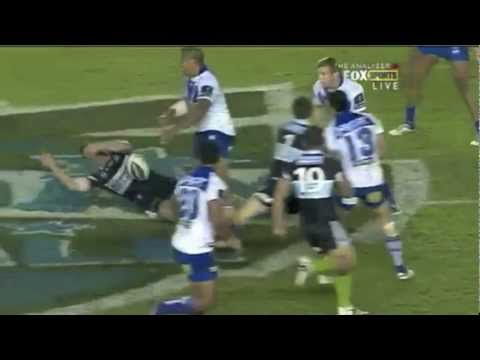 Frank Pritchard Big Hit on Wade Graham (Hit of the Decade NRL)