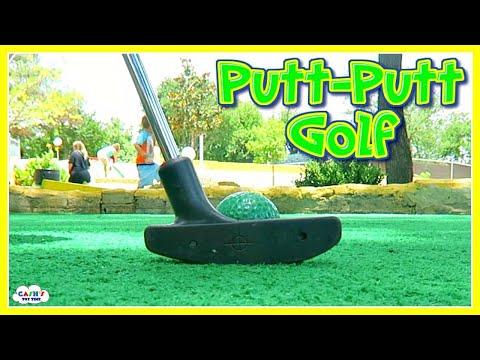 MINI GOLF Course Kids Playtime Fun