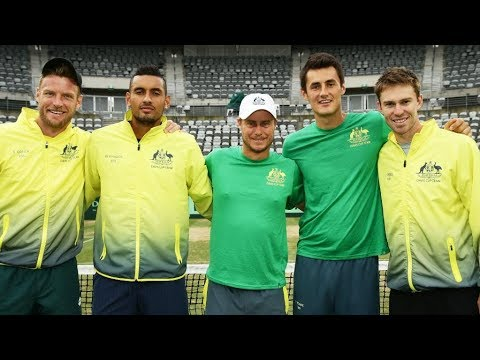 Tomic Battles Hewitt, Accuses TA of Corruption-Roger Reunites With Norman