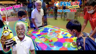 Fun City la Semma Fun with kids! 😍 | EA Shopping Mall