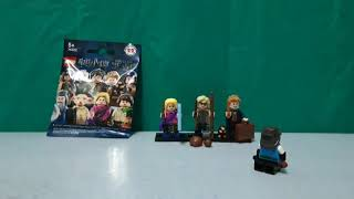 LEGO Harry Potter + Fantastic Beasts - pack opening! (18/8/2018)