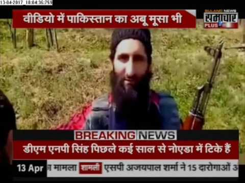 Jammu and Kashmir Terrorists using Social Media as Weapon after AK-47