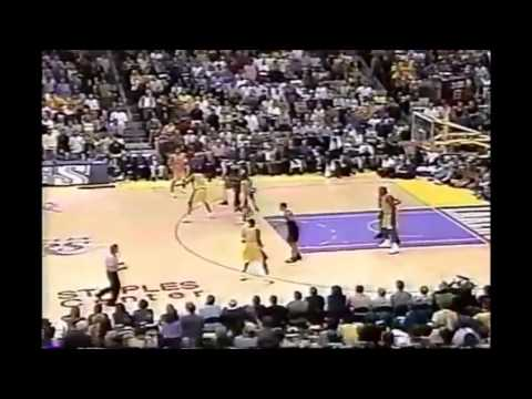 lakers - kings 2002 playoffs  game 6