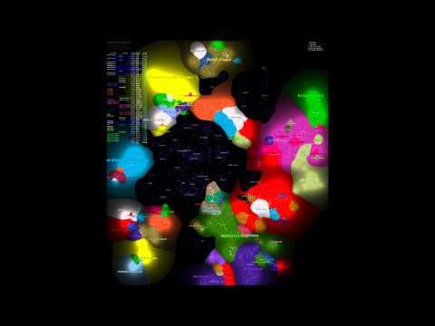 EVE: Animated Influence Map - 2011