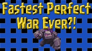 Clash of Clans - Fastest Perfect War Ever?! - This Clan Wrecks Mad RaM!