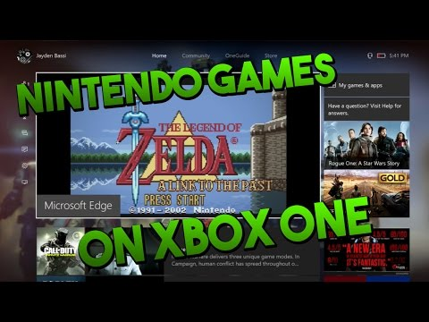 HOW TO PLAY NINTENDO GAMES ON XBOX ONE!