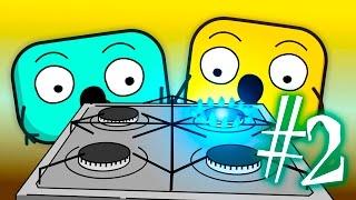 Почему Нельзя Играть С Огнем и Газом? Как Работает Газовая плита и  ❒ Кубики #2
