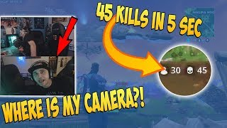 SUMMIT1G FORGOT WHERE HIS CAMERA WAS | STREAMER GETS 45 KILLS BY TAKING RAMP DOWN